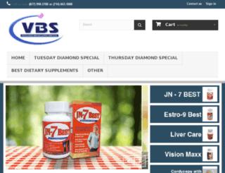 vbsdistribution.com screenshot