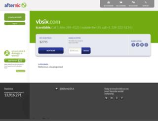 vbsix.com screenshot