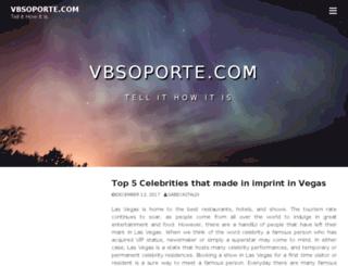 vbsoporte.com screenshot