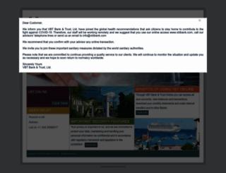 vbtbank.com screenshot