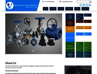 vbvalves.com screenshot