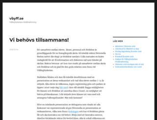 vbyff.se screenshot