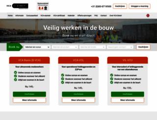 vcadirect.nl screenshot