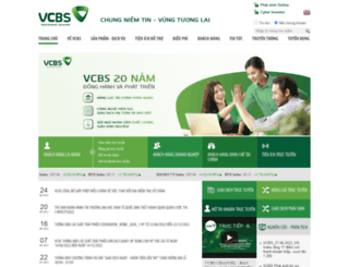 vcbs.com.vn screenshot