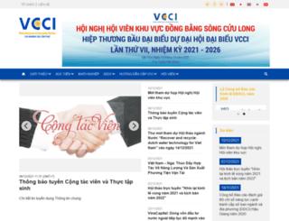 vccimekong.com.vn screenshot