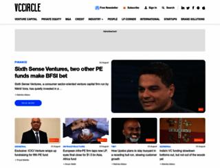 vccircle.com screenshot