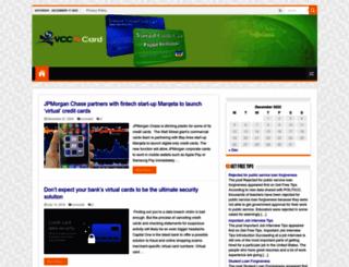 vccncard.com screenshot