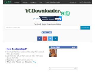 vcdownloader.com screenshot
