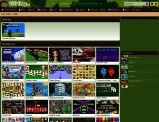 vcely.1001hry.cz screenshot