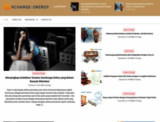 vcharge-energy.com screenshot