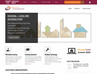 vchr.vt.edu screenshot