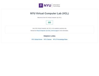 vcl.nyu.edu screenshot