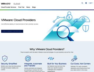 vcloudproviders.vmware.com screenshot