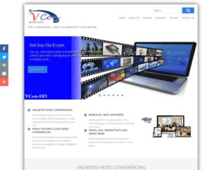 vcon-hd.com screenshot