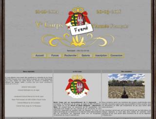 vcorps.forumactif.org screenshot