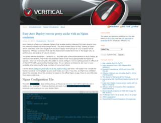 vcritical.com screenshot