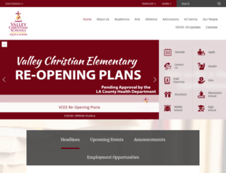 vcschools.org screenshot