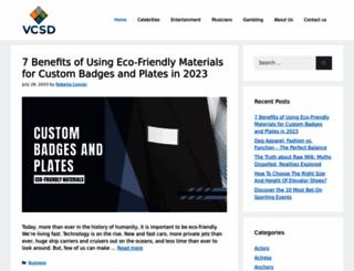 vcsd.org screenshot