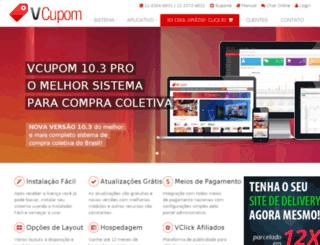 vcupom.com.br screenshot