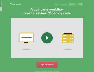 vcwebdesign.beanstalkapp.com screenshot