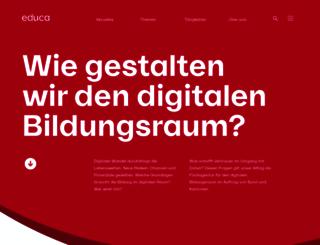 vd.educanet2.ch screenshot