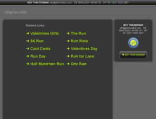 vdayrun.info screenshot
