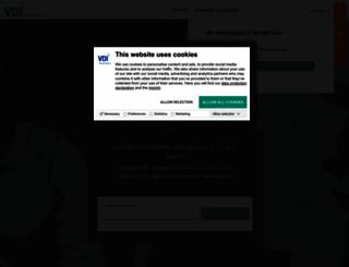 vdi-wissensforum.de screenshot