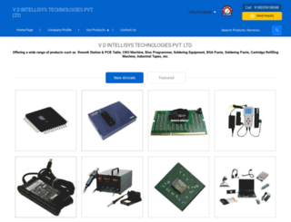 vdintellisys.tradeindia.com screenshot