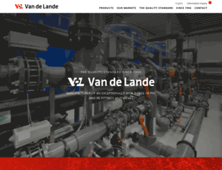 vdl-fittings.com screenshot