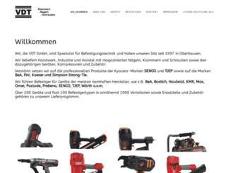 vdt-oberhausen.de screenshot