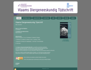 vdt.ugent.be screenshot