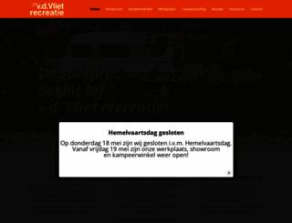 vdvliet-recreatie.nl screenshot