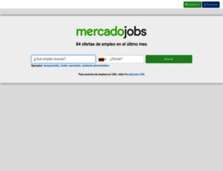 ve.mercadojobs.com screenshot