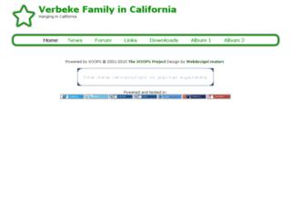 vebefam.com screenshot