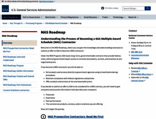 vec.gsa.gov screenshot