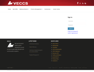 veccs.site-ym.com screenshot