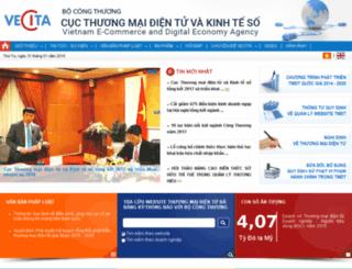 vecita.gov.vn screenshot