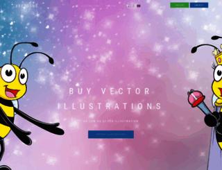 vectoons.com screenshot