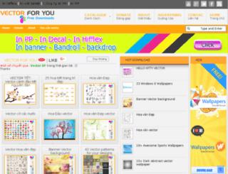 vector.congtyinanquangcao.com screenshot