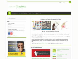 vectorgraphicsforfree.com screenshot