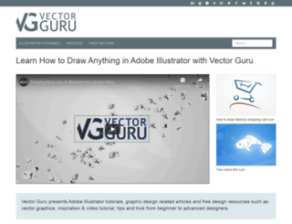 vectorguru.com screenshot
