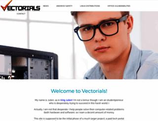 vectorials.com screenshot