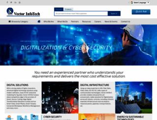 vectorinfotech.com screenshot