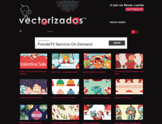vectorizados.com screenshot