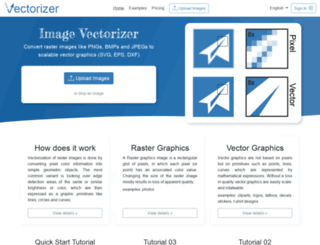 vectorizer.io screenshot