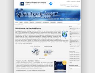 vectorlinux.com screenshot