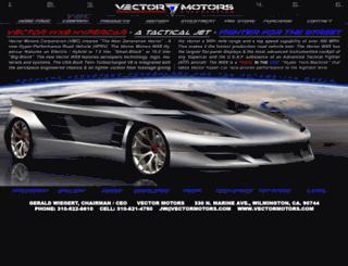 vectormotors.com screenshot