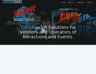 vectorspacevr.com screenshot