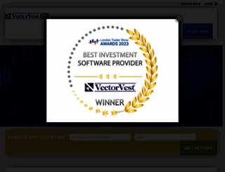 vectorvest.co.uk screenshot