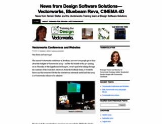 vectorworkstrainer.wordpress.com screenshot
